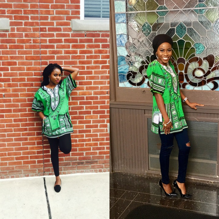 Style your Dashiki | Two ways